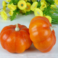 artificial pumpkin - Artificial pumpkin big pumpkin color at home decoration fruit props