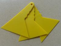 Wholesale Small triangle Scraper for D Carbon Fiber car Squeegee Car Film Tools PT A5