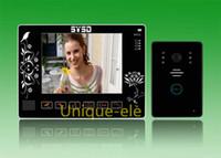 al por mayor sd teléfono de la puerta-Ratón sobre la imagen de zoom 8 pulgadas LCD Home Video Door Door Door Door, 2G SD Video Record DVR tarjeta