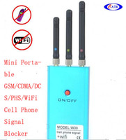 Wholesale Hot sell w30 Compact Mini Portable wifi CDMA GSM DCS PHS Cell Phone Signal generator
