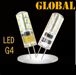 SMD 3014 3W DC AC 12V G4 LED Lamp Replace 30W halogen lamp 360 Beam Angle LED Bulb lamp warranty 2 years free shipping