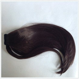 Wholesale New dark brown quot Fashion Synthetic Ponytail Pony Tail synthetic hair extension