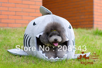 Wholesale Shark Pet Nest Dog Nest Bed Consummated Spring Pad Washable Cat Litter