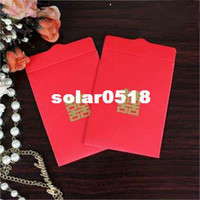 Wedding Event & Party Supplies China (Mainland) GAGA ! Free shipping mini wedding red pocket envelope , red envelopes , 7*9.3cm, sweetlive09R