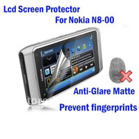 Wholesale DHL Free ship x For Nokia N8 N8 Anti Glare Matte Screen guard film Protector without retail pack