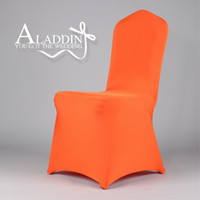 Banquet Chair 100% Polyester  9PCS Spandex Chair Cover Lycra For Wedding Banquet Party Hotel Decorations High Quality Supplies <<<FKGND