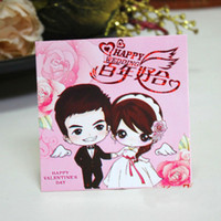 Wedding Event & Party Supplies China (Mainland) GAGA ! Free shipping cartoon good years red envelope, Wedding Red Pockets , Red Pockage 80mm*80mm , weika05-pink