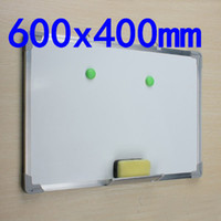 Wholesale Magnetic Dry Wipe Whiteboard amp Eraser x400 Memo Notice Writing Board Presentation Student Office Message Gift