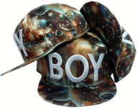 Wholesale BOY LONDON Galaxy Snapbacks Blue EMS DHL cotton hip ho street headwear sports hats adjustable baseball caps fitted hat