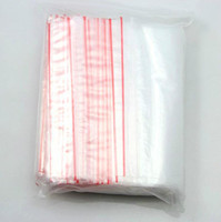 Wholesale 4x6 cm Cello Poly Small Clear Grip Self Press and Seal Resealable Polythene Zip Lock Plastic Bags