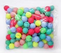 Wholesale 50pcs Table Tennis Balls multicolour