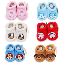 Wholesale Bran New Arrival coral cartoon baby shoes Floor baby shoes shoes shop kid shoes baby wear shoes sale china pairs