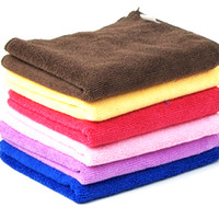 0 0 Sponges, Cloths & Brushes Car wash supplies ultrafine fiber towel car wash wool cleaning towel paint wiping towel household washing Free shipping