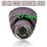 Wholesale OSD IR LED Sony Effio CCD TVL Day amp Night Security CCTV Color Surveillance Dome Camera