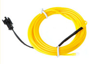 Wholesale M Flexible Neon LED Light EL Wire Rope Tube with Controller