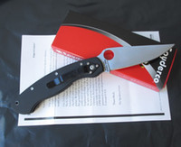 Wholesale Factory price Spyderco C36GPE Folding Knife CPM S30V blade and G10 handle