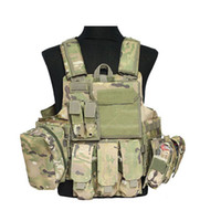 Wholesale Five Colors Molle Strike Plate Carrier Airsoft Combat Vest