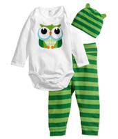 Spring / Autumn baby tortoise - NEW The Newborn boy s Sets Tortoise Jumpsuits hat pants Baby pajamas girl s suit bodysuit outfits LWQ967G