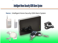 Wholesale New iOS Apps Supported Smart Wireless Wired Burglar GSM Home Security Alarm System Remote Control by SMS amp Calling from egomall H304