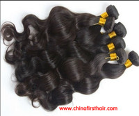 Wholesale Queen hair products malaysian Virgin Remy human body wave hair weave extension a b inch mixed length