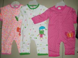 baby boys girls romper bodysuits wear clothes mixed 20cs lot #3050