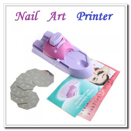 Wholesale High quality Nail Art DIY Pattern Printing Manicure Machine Stamp Stamper Tool Set Dropshipping