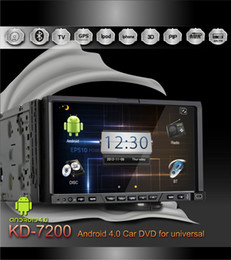 Wholesale Android inch HD Touch Screen Car DVD Player With WIFI GPS Navigation Bluetoot DVB T or ATSC Digital TV Receiver