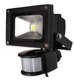 10W LED Floodlight Flood Lamp PIR Motion Sensor Outdoor Motion Sensor Light 85V-265V