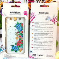 Wholesale New Universal Paper Plastic Retail package Packaging box boxes for iphone S iphone S C Samsung Galaxy S3 S4 S2 note