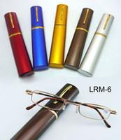 Wholesale 2013 Hot sale pen reading glasses slim popular reading glasses reader small Tube reading glasses