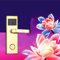Wholesale Electric card locks for hotels hotel room card lock system guangzhou szh doors locks