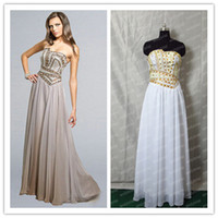 Wholesale - 2014 Hot Designs Strapless Rhinestone Beaded Cor...