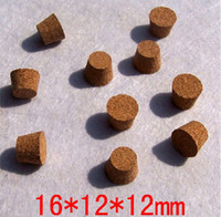 Verre bouchons de vin Avis-M-001 16 * 12 * 12mm Bouchons de vin bouteille de vin
