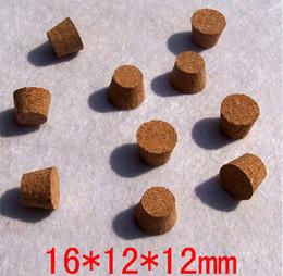 M-001 16 * 12 * 12mm Bouchons de vin bouteille de vin à partir de verre bouchons de vin fabricateur