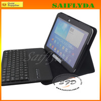 Wholesale Bluetooth Wireless Keyboard for samsung galaxy P5200 P5220 for samsung galaxy tab3 inch