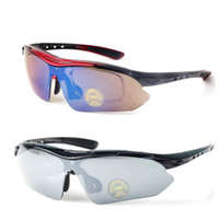 Wholesale Bicycle Sports Sun UV Cycling Eyewear Bike Goggle Len L0058 Glasses