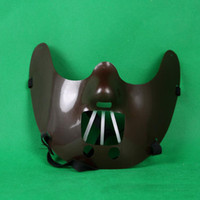 Wholesale New Moive Mask Hannibal Masks The Silence Of The Lambs Steel Tooth Mask Mens Party Mask Colors Free Shipment
