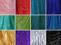 Wholesale Giltter Sequins Tops High Quality Rose Gold Champagne silver royal blue Gold Red Bridesmaid Dress Fabric Wedding Fabrics