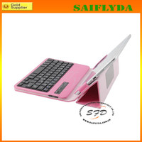 Wholesale universal inch inch bluetooth keyboard leather case for Android systems and apple systems