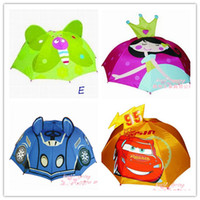 Wholesale HOT High quality creative children umbrella stereo modelling Disney cartoon animals