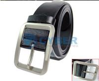 Wholesale New Men s Fashion Classical Faux Leather Premium Textured Metal Buckle Belt Colors