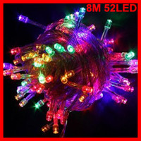 Wholesale Multicolour M LED String Lights LED AC v v LED Exterior Car Tree Building Christmas Decoration Lights