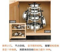 Wholesale Factory price Multi purpose kitchen shelf multifunctional tableware storage rack cutting board rack shelf pot rack senn on tv
