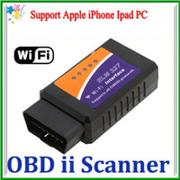 Wholesale 20 lotWiFi OBD2 wifi ELM WIFI ELM327 Auto Car Diagnostic Interface Scanner tool K658