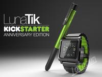 For iPod Nano No  100pcs New Hot!! Metal aluminum material LunaTik Lynk Watch Kits Band luna tik Wrist Strap Case For iPod Nano 6 DHL Free Shipping