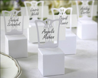Wholesale FREE SHIP Miniature Chair Place Card Holder and Favor Box best for candy boxes and wedding favors BOX