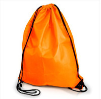 Wholesale Portable Gym Swim School Dance Shoe Boot PE Drawstring Bag Backpack String Bag Drawstring Backpack