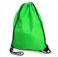 Wholesale NEW Gym Swim School Dance Shoe Boot PE Drawstring Bag Backpack Portable String Bag Drawstring Backpack