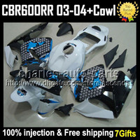 100% Injection + 7gifts For HONDA CBR600RR F5 03- 04 CBR 600 G...