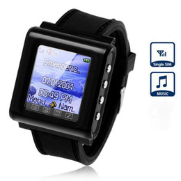 Wholesale AK812 Watch Cell Phone with inch Screen Quad Band Single SIM Bluetooth Unlocked Wrist Phone for Children Kids